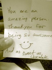 It's Nice to be Appreciated--Daily Image 2011--November 26
