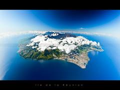 Runion island in Indian ocean (Beboy_photographies) Tags: canon de la ile 5d vue indien runion avion arienne le ocan iledelarunion vuearienne 5dmarkii