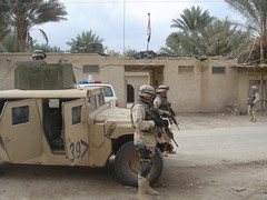 Operation Iraqi Freedom III - Patrol - 041216 (expertinfantry) Tags: red infantry wisconsin river tampa one freedom three town big iii id iraq guard route national armor mission division combat operation hillbilly convoy tigris 3rd iraqi oif 1128 abyachi