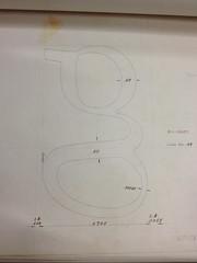 William Addison Dwiggins: final drawing for Electra 'g' (frankrolf) Tags: boston william addison dwiggins linotype