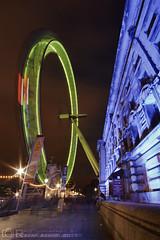 London Eye (R.Azhari) Tags: uk london eye night canon gb londo lighttrail sigma1020mm eos500d t1i