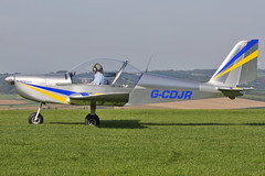 G-CDJR (johnmorris13) Tags: eurostar comptonabbas ev97 egha cosmikaviation gcdjr