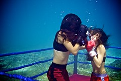 UW-ChineseBoxing 3 (steadichris) Tags: underwater models chinese scuba lingerie cebu boxing breathhold