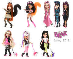 More Bratz SP12 Stock pix! (alexbabs1) Tags: new spring neon dolls jade sasha yasmin runway catz upcoming 2012 bratz cloe meygan featherageous