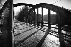 DSC_6955-Edit.jpg (Mark Heine Photos) Tags: county old bridge bw sunlight white ontario canada black river concrete shadows bow wellington salem circa irvine elora 1929 truss markheine