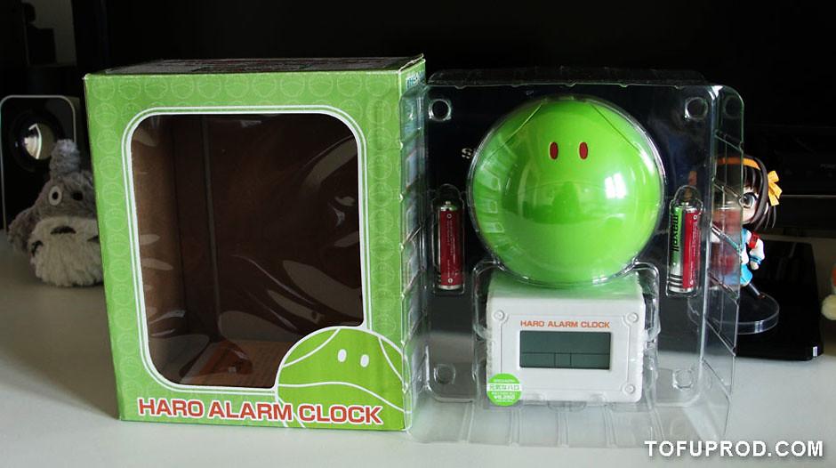 Haro Alarm Clock ハロ音声目ざまし時計