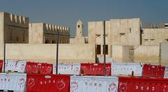 Doha /  (Qatar) - Mosque Construction Site (Danielzolli) Tags: construction mosque baustelle arab arabia mezquita cami obra doha qatar moschea camii arabien moschee katar  arabie qatr meczet damija aldoha dzami addoha  mascid dauha addauha