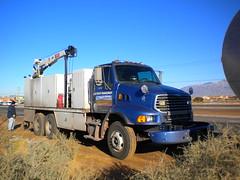 Albuquerque Solid Waste Management Department Breakdown Truck (wastemanagementdude) Tags: trash truck albuquerque management breakdown sterling waste department solid