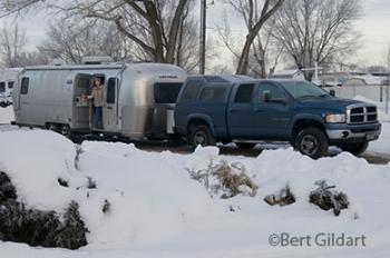 Winter, yesterday morning, Ogden, Utah