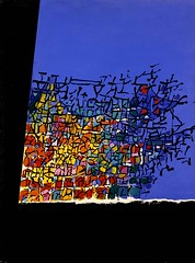 Kepes, Gyorgy (1906-2001) - 1958 Untitled (Smithsonian American Art Museum, Washington DC) (RasMarley) Tags: abstract smithsonian contemporary 1950s painter 1958 20thcentury untitled hungarian kepes geometricabstraction gyorgykepes