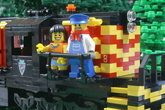 Eight (SavaTheAggie) Tags: railroad people train texas tour ride lego state diesel palestine scenic engine 8 trains passengers locomotive passenger eight rusk alco mrs1 tsrr tsrr8