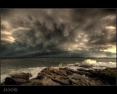 TORMENTA (jojesari) Tags: marinas sigma nubes explore mygearandme hdr tormenta 1020 jojesari suso portonovo pontevedra galicia