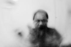 (loosingmind) Tags: portrait blackandwhite blurry