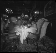 Green Room at Hotel DuPont (squaremeals) Tags: restaurant hotel pinhole brunch wilmington dupont greenroom