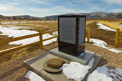 Never to Be Forgotten (Photo Dean) Tags: usa monument cemetery utah ut memorial cross massacre historical mormon gravemarker 1857 2011 mountainmeadowsmassacre septermber11