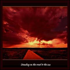 Sun-road (Gena Golovskoy) Tags: soe galleryoffantasticshots flickrstruereflection1 flickrstruereflection2 flickrstruereflection3 flickrstruereflection4 flickrstruereflection5