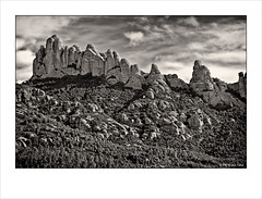 Mountain of Monserrat I (Christian Frlich) Tags: barcelona bw espaa mountain landscape blackwhite spain paisaje catalonia montserrat montaa catalua 2011 leefilters christianfrolich visionqualitygroup
