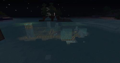 Minecraft Underwater image