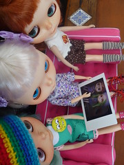 It's Auntie Jess' girls Lucille & Zinnia!!