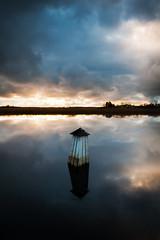 Reflected (- David Olsson -) Tags: winter sunset lake cold ice water clouds reflections nikon december cloudy sweden harbour sigma karlstad 1020mm dramaticsky 1020 dri vnern vrmland hamn 2011 navaid d5000 kanikenset davidolsson kanikenshamnen 2exposuremanualblend ginordicdec
