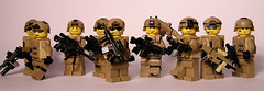 U.S. Army (Bsstne) Tags: 2001 cat army us 2000 lego m249 tiny 200 mich minifig m4 m16 tactical m82 brickarms ibh scarh