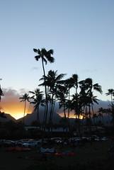 pali sunset (rlnv) Tags: sunset beach hawaii kailua windwardside 1855mmf3556gii nikond40x