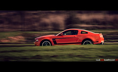 The Boss.. (Luuk van Kaathoven) Tags: boss orange ford shot mustang van panning edition 302 luuk autogetestnl luukvankaathovennl autogetest kaathoven