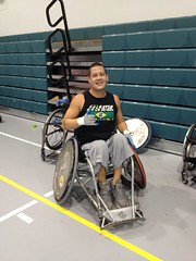 Wheelchair Rugby (HowiRolldotcom) Tags: paraplegic paralysis murderball howiroll wheelchairrugby wheelchairsports
