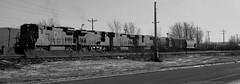Diverging Approach, Dixie (Wide Cab) Tags: cn train freight canadiannational manifest neenahwi a447 neenahsub dixiesiding