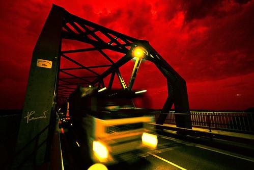 An der schlimmen roten Donau