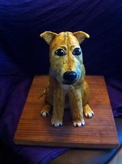 Dog cake :-) (Caking it...) Tags: cake novelty birthdaycake sarahking sugarpaste noveltycake noveltycakes bakinganddecorating sarahjoanneking