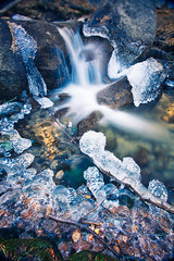 Cold Spring (thedot_ru) Tags: california ca usa cold ice water spring mount whitney canon5d mountwhitney 2010
