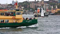 Lady Heron (dicktay2000) Tags: ferry harbour sydney australia operahouse canonef100400mmf4556lisusm ladyherron thechallengefactory richardtaylor 20111227img1348