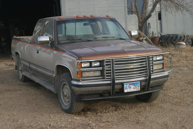 old car farm south pickup chevy 1989 silverado dakota 1500 leola