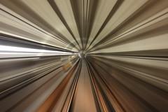 Warp Speed Cap'n (MrDanMofo) Tags: toronto ontario canada blur underground subway ttc tunnel transit spadina torontotransitcommission mrdanmofo
