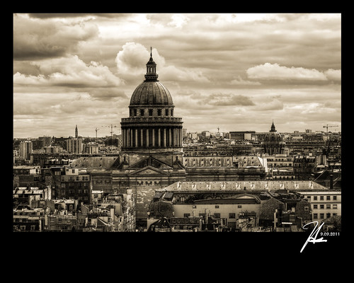 Paris, France - Notre Dame Skyline, Pantheon - Explore 1.5.12
