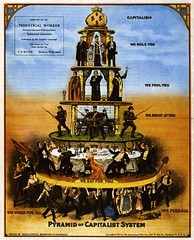 pyramid of capitalism (newyork music) Tags: money labor politics markets property class system capitalism merchant liberal babylon economics socialism corporations industrialization heirarchy occupywallstreet