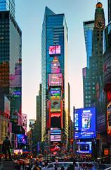 Times Square / dusk