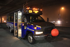 S300: C24 Port Moody Station (DennisTsang) Tags: station night reindeer shuttle burnaby gmc lougheed