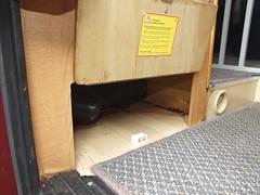 Small storage locker under wardrobe (Mudman101) Tags: fiat motorhome ducato