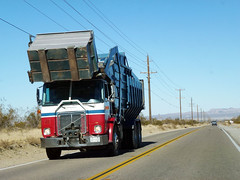 Garbage Truck (3) (Photo Nut 2011) Tags: california trash dumpster truck garbage highway desert waste refuse sanitation garbagetruck sanbernardinocounty trashtruck wastedisposal