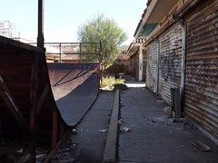 Skater's Paradise (Tony's Photostream) Tags: metal trash mexico ramp industrial skaters skates sinaloa losmochis