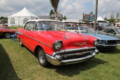 Chevrolet  Bel Air 1957 (gilmar12001) Tags: auto chevrolet granby 1959