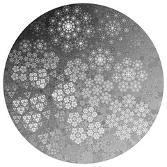 Snowflakes (fdecomite) Tags: circle geometry packing math fractal gasket imagej apollonian