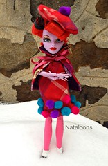 Monster High Operetta (Nataloons) Tags: snow fashion monster by high doll handmade clothes mattel operetta louos souol monsterhigh