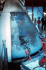 Apollo 1 Capsule Exterior (NASA APPEL Knowledge Services) Tags: accident nasa astronauts launch edwhite gusgrissom apollo1 rogerchaffee explorions apollo204reviewboard