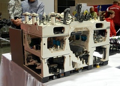 Back of the Hoth Piece (lensman20) Tags: lego 2012 brickfair elementsorganizer