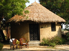 One of the Huts @ Rann Riders (Shreeram Ghaisas) Tags: birds kutch dasada rann littlerann gujarath