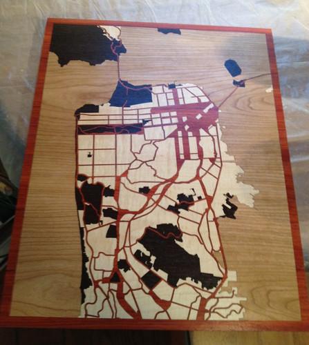 SF map 22