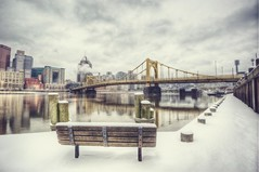 Vintage Pittsburgh from the North Shore HDR (Dave DiCello) Tags: winter snow vintage photography nikon day pittsburgh blizzard hdr highdynamicrange incline threerivers burgh pittsburghskyline duquesneincline steelcity yinzer pittsburghbridges cityofbridges theburgh pittsburgher colorefex vintagepittsburgh d700 ononesoftware nikond700 thecityofbridges pittsburghphotography pittsburghcityofbridges steelscapes perfecteffects picturesofpittsburgh cityofbridgesphotography